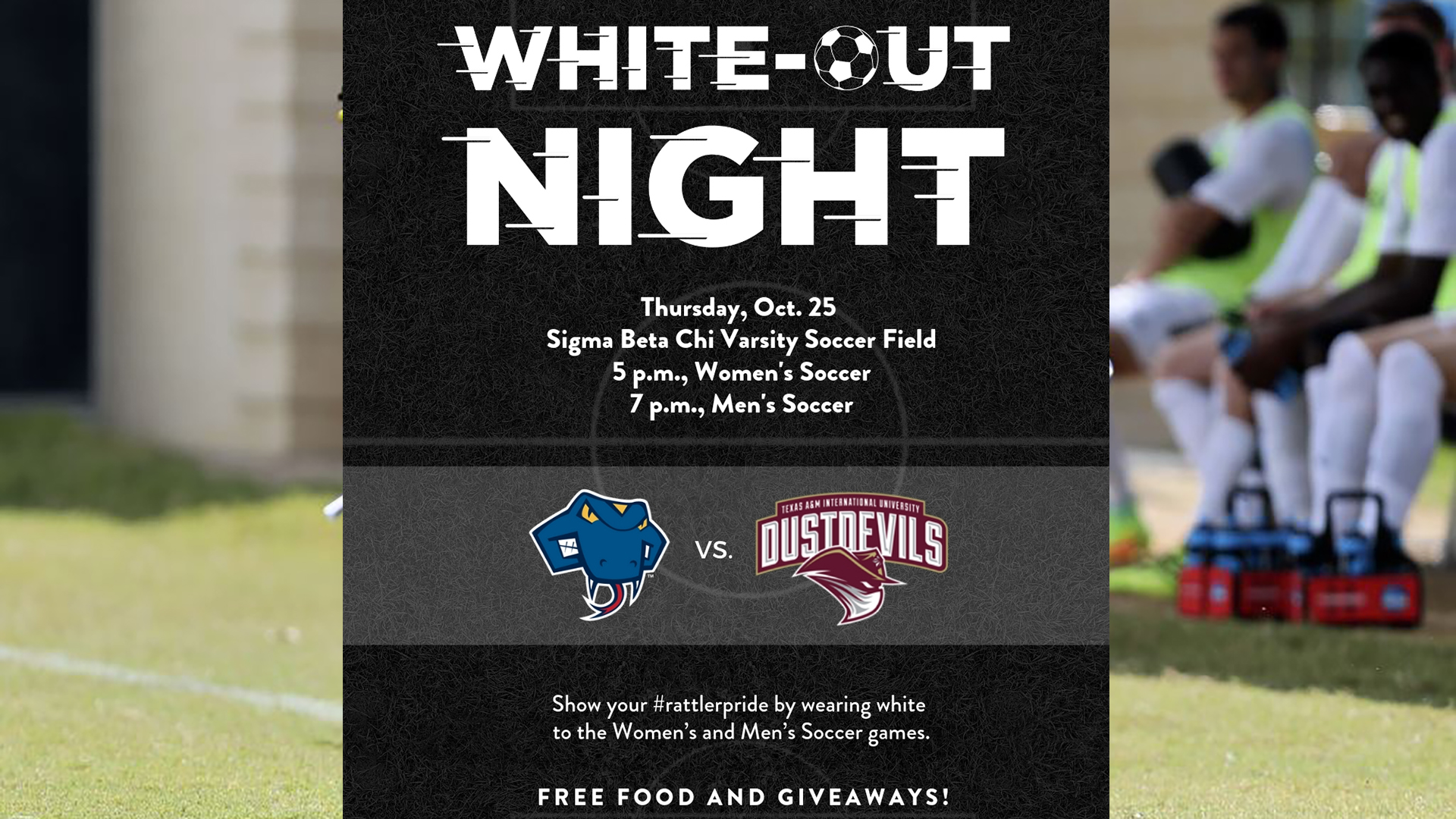 5fec961cd Rattler Soccer to host TAMIU on WHITE-OUT NIGHT - St. Mary s ...