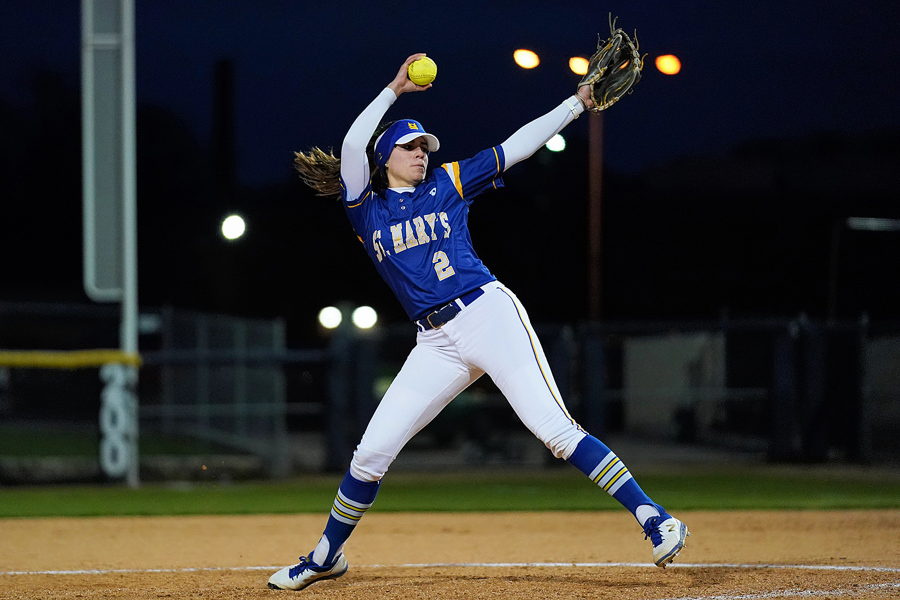 reputable site 2dc94 f347d Softball splits at Texas A&M Kingsville - St. Mary's ...